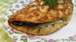 Бризоль, очень ленивый вариант) с фаршем и пикантным салатом из огурца.