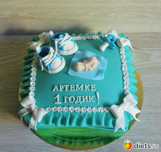 Поздравления на торте для мальчика