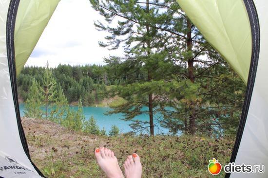 Лучший вид из палатки...