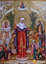 6 ноября. Празднование в честь иконы Божией Матери «Всех скорбящих Радость»