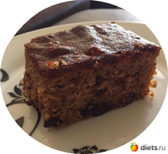 Кекс  с кленовым сиропом, орехами и шоколадом, альбом: Я готовлю.