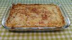 Ленивый пирог из лаваша с сыром и зеленью.
