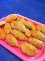 Пирожки дрожжевые с мясом и рисом