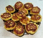 Солнечные сырники с сырой тыквой, 2 варианта: 180,1  и 165,3 ккал/100 г. И блинчик-смайлик на новой сковородочке