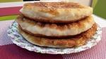 Быстрый сырный пирог или хачапури на сковороде.