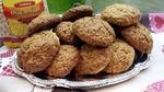 Овсяное печенье с медом и сметаной.