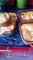 Быстрый яблочный пирог на Сыворотке!!!(или на любом кисломолочном продукте)