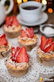 Новогодний десерт: творожно-ягодные корзиночки. Вкусная коллекция