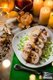 Куриная грудка, фаршированная омлетом с грибами на Новый год. Вкусная коллекция