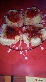 Творожная запеканка(с манной крупой)с ягодами, фруктами  в микроволновке