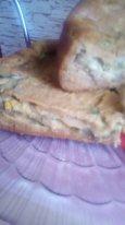 Заливной пирог с начинкой на Ваш вкус- из ц/зерновой муки, на сыворотке, в мультиварке.