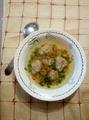 суп с гречневыми клецками
