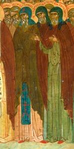 Преподобный Софроний затворник Печерский