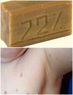 Нестандартное использование хозяйственного мыла