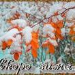 А зима то уже скоро)))