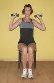 Красивая фигура, не вставая со стула (упражнения, которые можно выполнять в сидячем положении)