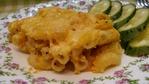 Макаронная запеканка с тыквенно-сливочным соусом, с крымскими специями под сыром (по рецепту Куси-Ленуси).