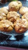 Ванильные кексы на квасе с кусочками шоколада и изюмом