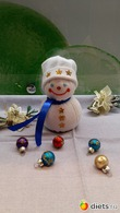Новый год к нам мчится... снеговик своими руками)