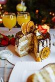 Пряный, сочный морковный тортик на Новый год. Вкусная коллекция