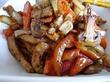 Куриное филе тушеное с овощами.