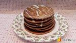 Панкейки шоколадные с какао.