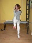 Фитнес на гимнастической скамье