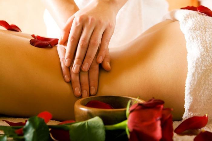 Обертывание с эфирными маслами для похудения
