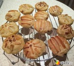 Картофельно-творожное тесто и кексы из него