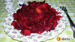 Свекольная икра с болгарским перцем, морковью и луком.