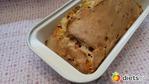 """Кекс """"Закусочный"""" с колбасой, сыром и зеленью."""