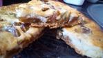 """2 пирога.1- Рыбный пирог с луком и укропом на песочном тесте с йогуртной заливкой. 2- Пирог с яблочным """"Живым"""" вареньем  с такой же заливкой, но сладкой!"""
