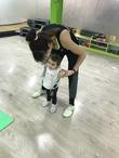 Фитнес-партнеры: мама+малыш