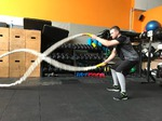 Мужской подарок к 8 марта: тренировка с канатами