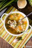 Постный суп с опятами и булгуром. Вкусная коллекция