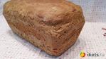 Горчичный хлеб с ржаной мукой и овсяными хлопьями.