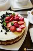 Нежный диетический медовый торт с легким сметанно-йогуртовым кремом. Вкусная коллекция