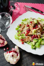 Салат с булгуром и куриными бедрышками. Вкусная коллекция