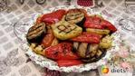 Овощи запеченные на гриль-сковороде.