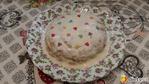 Полезный тортик по мотивам овсяноблина.
