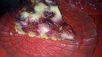 Насыпной пирог с яблоками и  сливами, с сывороткой-в мультиварке(печь можно и в духовке).