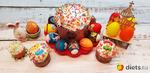 Всех жителей Диетс со Светлым праздником Пасхи!!!
