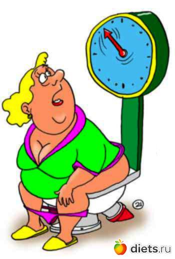 Смешные картинки девушка-весы