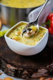 Согревающий сырный суп с шампиньонами. Вкусная коллекция