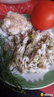 Макароны с кабачками-блюдо из трех составляющих, очень быстрое!