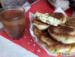 """Пост-напоминание.""""Ленивые пирожки""""-оладьи с зеленым луком и яйцом(можно и укроп добавить-для любителей)"""