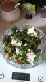 Салат с оливковым маслом и фетакса