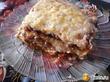 """""""Ленивая """"лазанья из лаваша с сыром, куриным фаршем, соусом Бешамель и томатным  соусом."""