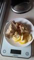 Рыба Сайда в цептере и лимон