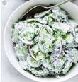 Турецкий огуречный салат